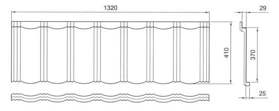 внешний вид панели Gerard Heritage