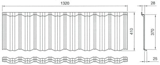 размер панели Gerard Classic