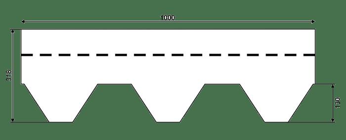 размер черепицы IKO Армошилд
