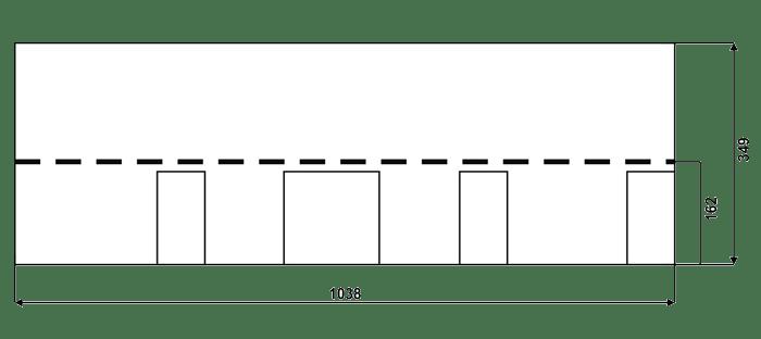 размер черепицы IKO Cambridge
