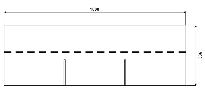 размер черепицы IKO 3 tab (Тритаб)