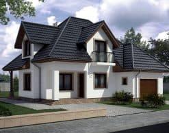 Blahotrapez Germania (RAL 9005, черный) (1)