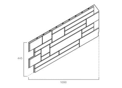 размер панели VOX (Вокс) SOLID Cube