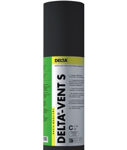 Гидроизоляционная мембрана DELTA VENT S