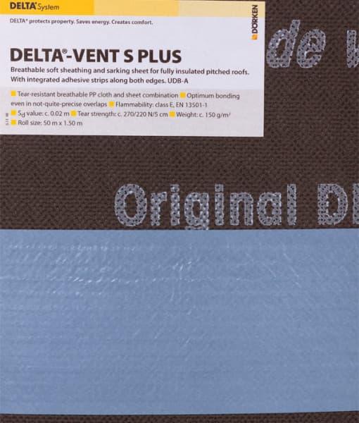 DELTA VENT S (лицевая сторона)