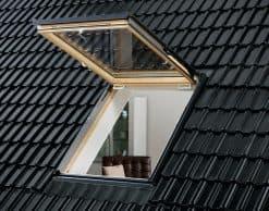 GTL 3070 VELUX (Велюкс) мансардное окно — выход на крышу