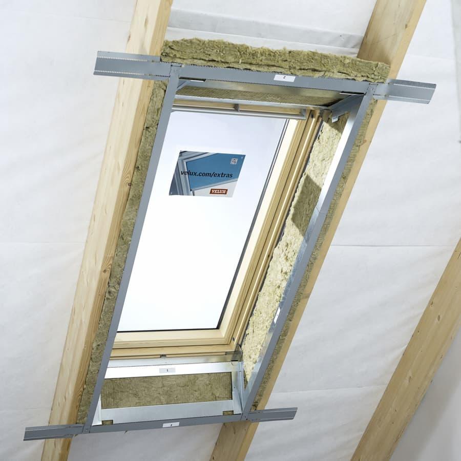Направляющие для самодельного откоса штора VELUX LSG