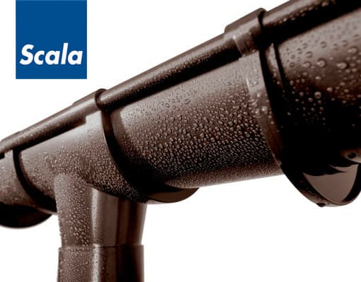 Scala Plastic - Водосточная система из ПВХ