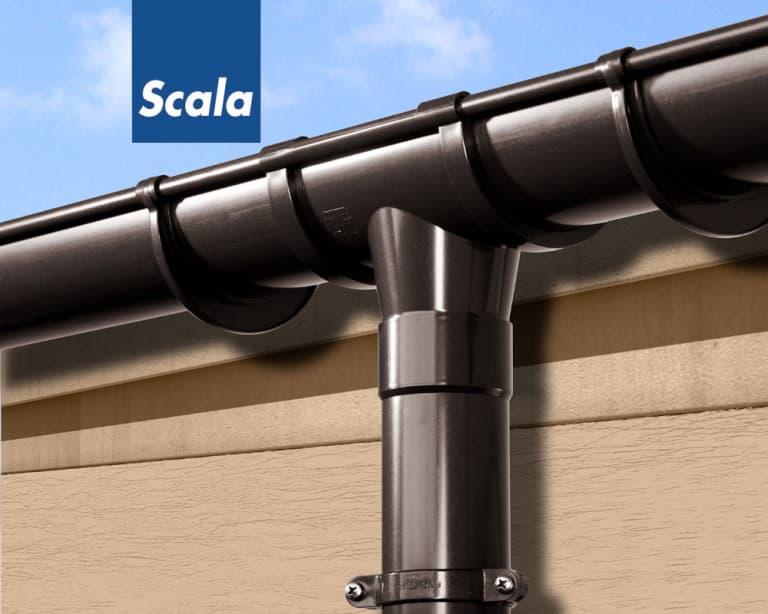 Scala Plastic - Водосточная система из ПВХ (1)