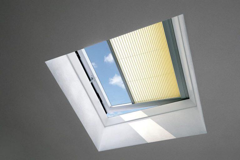 Velux FMG Штора-плиссе с электроприводом для зенитного окна