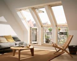VFE VIU Velux вертикальные карнизные окна (10)