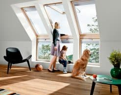 VFE VIU Velux вертикальные карнизные окна (18)