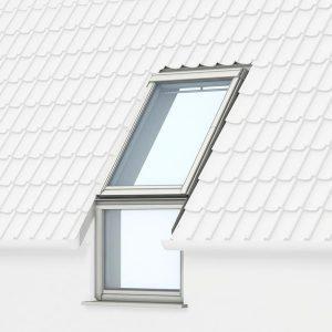 VFE VIU Velux вертикальные карнизные окна