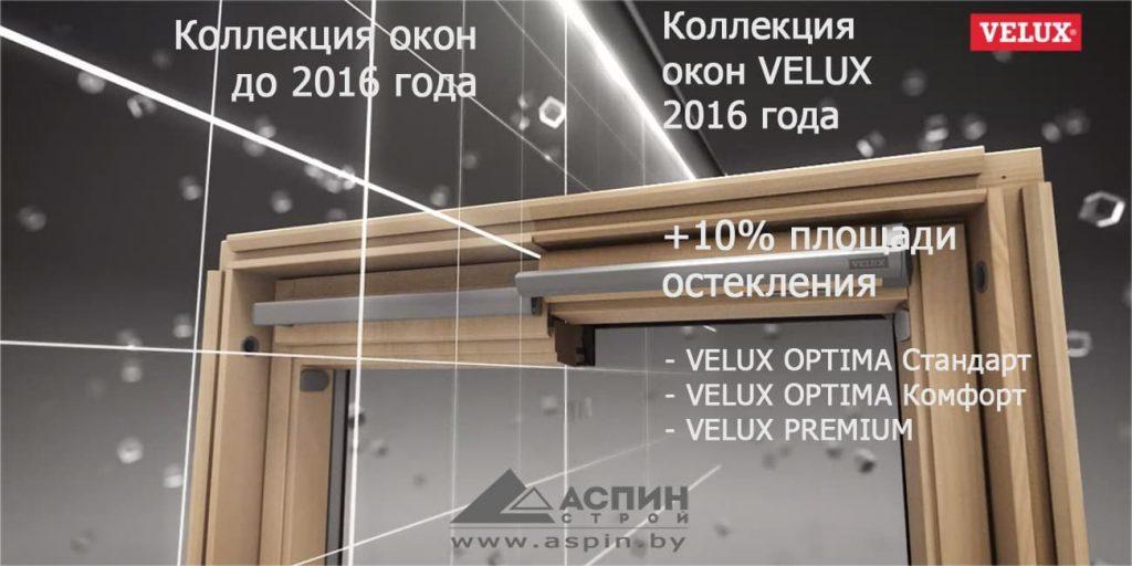VELUX Премиум - Новая коллекция 2016 года