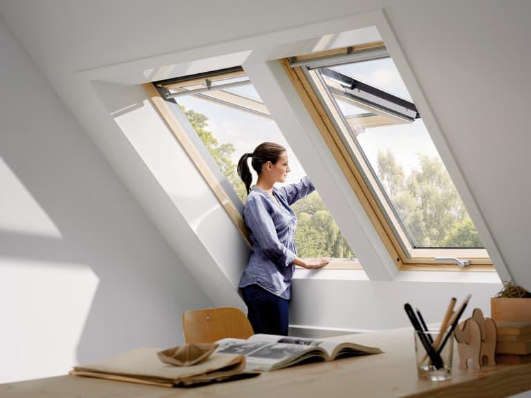 GPL 3068 VELUX Премиум, Панорамное мансардное окно (1)