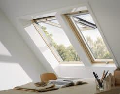 GPL 3068 VELUX Премиум, Панорамное мансардное окно (7)
