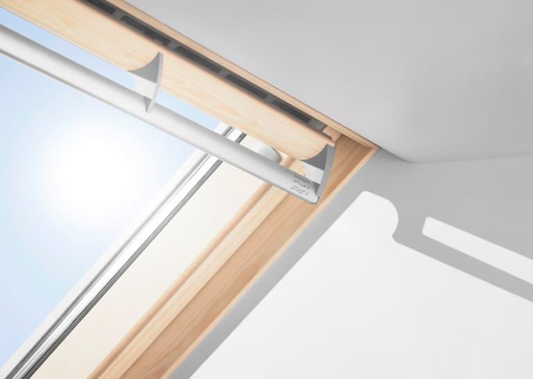 GPL 3068 VELUX Премиум, Панорамное мансардное окно (Ручка-вентиляционный клапан)