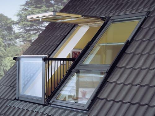 VELUX CABRIO, мансардный балкон (окно)