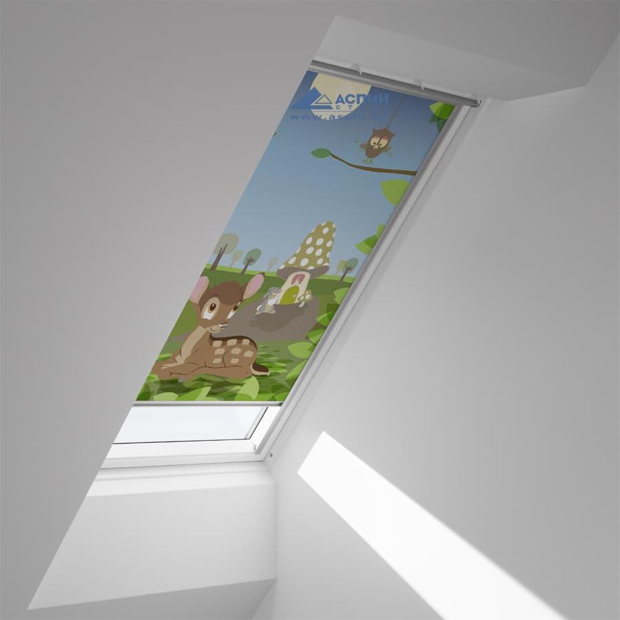 Затемняющая штора VELUX DKL 4613