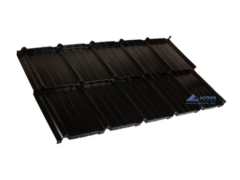 Металлочерепица Мурано S-Pure p905b Черный