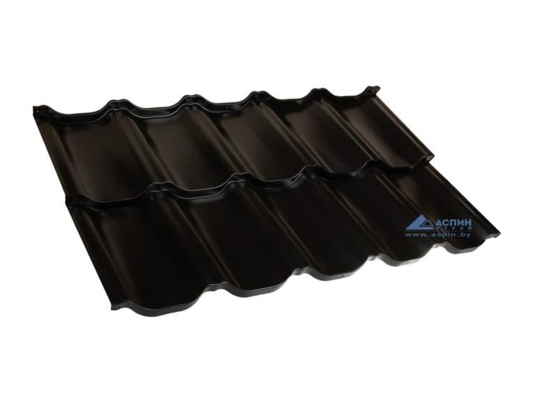 Металлочерепица Венеция S-Pure p905b Черный