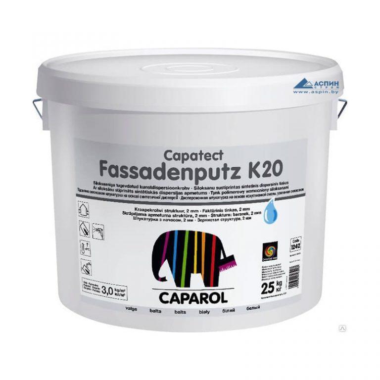 Caparol Capatect-Fassadenputz K20