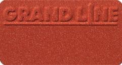 Металлочерепица Квинта UNO, RAL8004 (терракота)