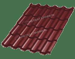Металлочерепица ТРАМОНТАНА Norman RAl 3011 (Коричнево-красный)