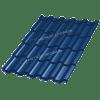 Металлочерепица ТРАМОНТАНА Prisma RAL 5005 (Сигнальный синий)