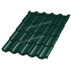 Металлочерепица ТРАМОНТАНА Prisma RAL 6005 (Зеленый мох)