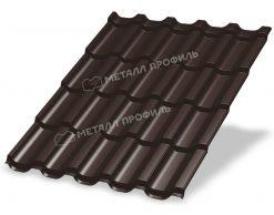 Металлочерепица ТРАМОНТАНА Puretan RAL 8017 (коричневый шоколад)