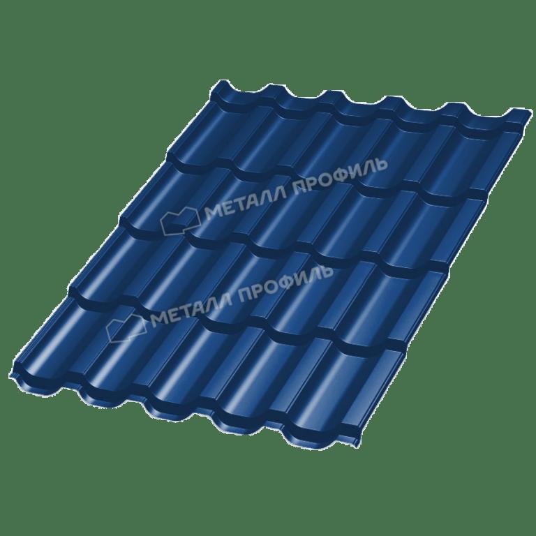 Металлочерепица ТРАМОНТАНА Purman RAL 5005 (Сигнальный синий)