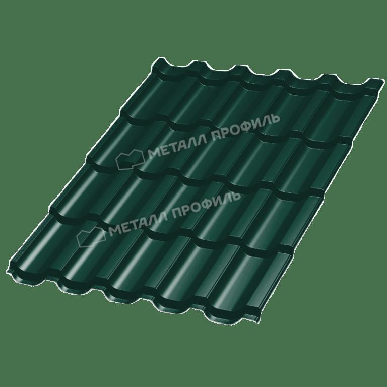 Металлочерепица ТРАМОНТАНА Purman RAL 6005 (Зеленый мох)