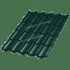 Металлочерепица МеталлПрофиль ТРАМОНТАНА Viking MP-E RAL 6005 (Зеленый мох)