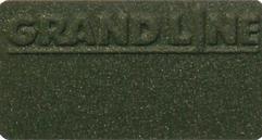 Металлочерепица Квинта UNO VELUR, RAL6020 (хромовая зелень)