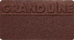 Металлочерепица Квинта UNO VELUR, RAL8017 (коричневый)