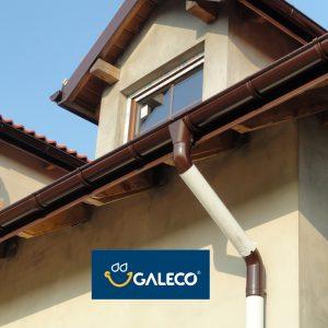 Galeco STAL 120/90, металлическая водосточная система