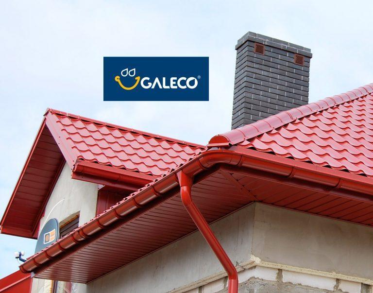 Galeco STAL 135/100 глянцевая металлическая водосточная система