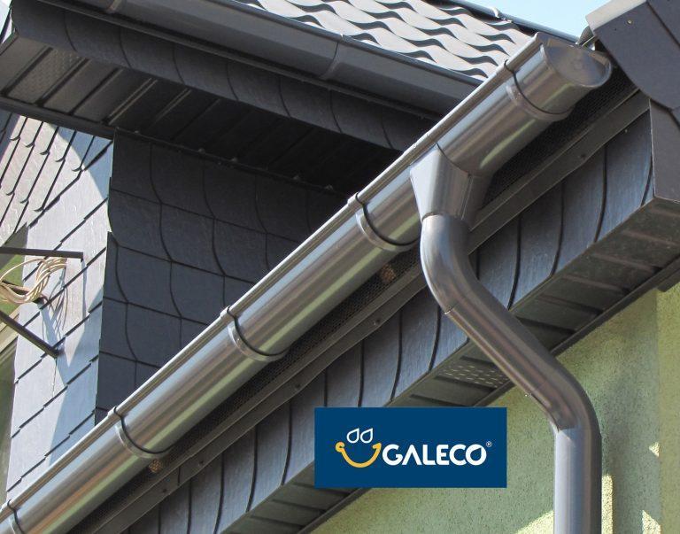 Galeco STAL 135/90 глянцевая, металлическая водосточная система