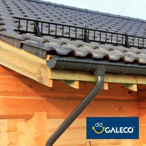 Металлическая водосточная система Galeco STAL 135/90 полуматовая, RAL7016, цвет - графитовый
