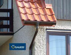 Galeco STAL 150/120 металлическая водосточная система