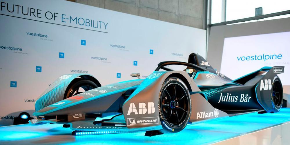 Voestalpine AG партнер Formula-E