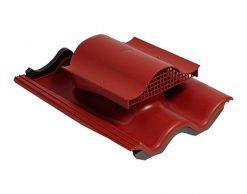 Кровельный вентиль Vilpe TIILI-KTV для вентиляции кровли из цементно-песчаной черепицы и чердачного помещения
