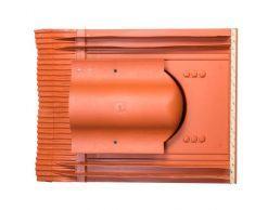 Кровельный вентиль Vilpe UNIVERSAL–KTV для вентиляции кровли из цементно-песчаной и керамической черепицы и чердачного помещения
