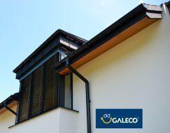 Galeco PVC 130/100 – пластиковые отливы для крыши