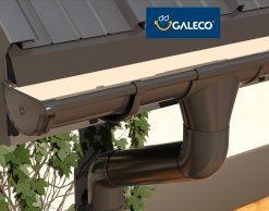 Galeco PVC 130/80 – пластиковый водосток с инновациями