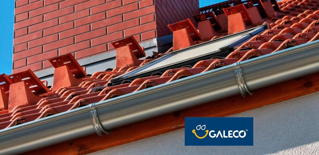 Galeco LUXOCYNK 120/90 оцинкованная водосточная система