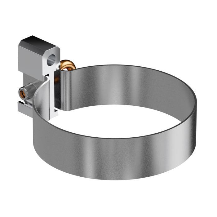 Металлическая обойма для дюбеля (обхват трубы)