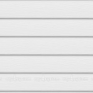 Металлический сайдинг AQUASYSTEM широкая скандинавская доска Pural 213 мм. Цвет Мраморно-белый (RR20, RAL9001)