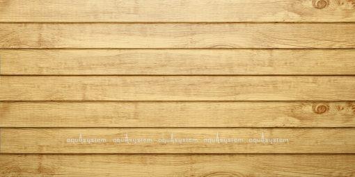 Металлический сайдинг AQUASYSTEM узкая скандинавская доска PRINTECH 154 мм. Цвет Старый дуб (Log).